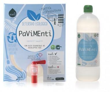 detergente delicato pavimenti alla spina biologico ostia ecoposteria