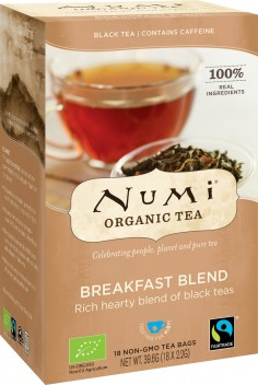 Breakfast Black Tea Blend – Tè nero mix - Numi