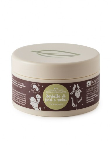 Crema corpo idratante - Sorbetto di fiori e radici - Ecoposteria