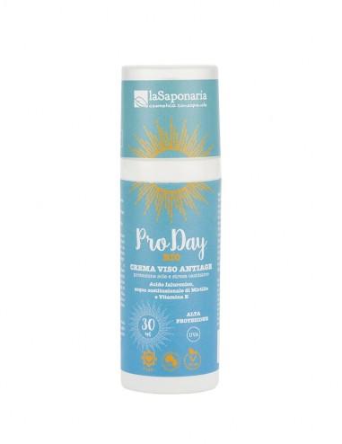 NEW BIO PRO DAY - Crema viso antiage alta protezione sole e stress ossidativo - ecoposteria ostia