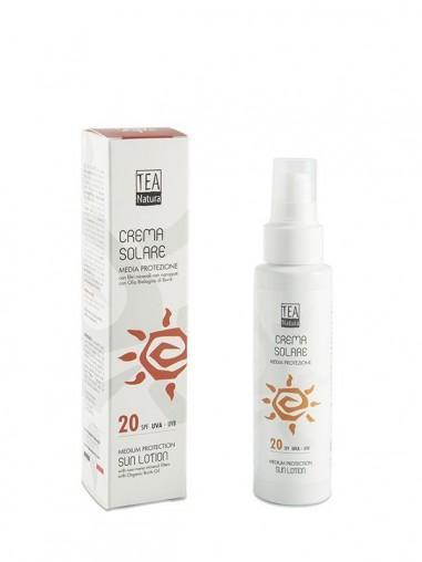 Crema solare SPF 20 - tea natura