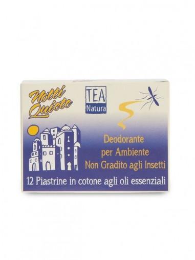 Piastrine deodoranti per insetti notti quiete - Tea Natura_Ecoposteria_Ostia_Roma