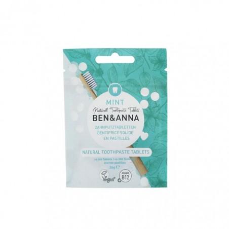Dentifricio in pastiglie senza fluoro Ben & Anna, Ecoposteria, Ostia