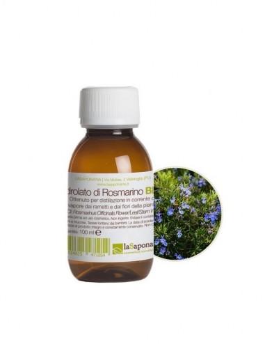Idrolato di rosmarino bio - La Saponaria - ecoposteria - ostia - roma