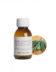 Idrolato di salvia bio - La Saponaria - ecoposteria - ostia - roma