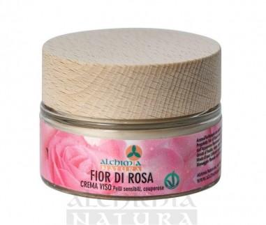 crema viso fior di rosa couperose alchimia natura ecoposteria ostia