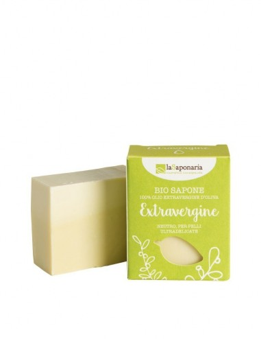Sapone extravergine - La Saponaria - ecoposteria - ostia - roma