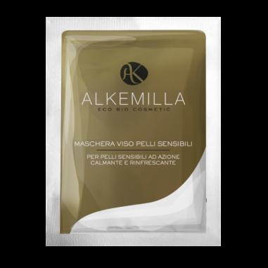 maschera monodose pelli sensibili alkemilla ecoposteria ostia