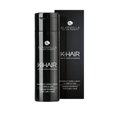 shampoo capelli ricci, k-hair, alkemilla,ecoposteria,ostia