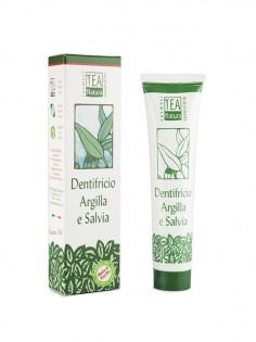 dentifricio argilla e salvia tea natura ecoposteria ostia