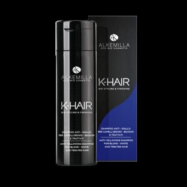shampoo anti giallo k-hair Alkemilla, Ecoposteria, Ostia