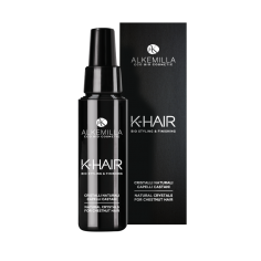 cristalli naturali k-hair Alkemilla, Ecoposteria, Ostia, capelli castani