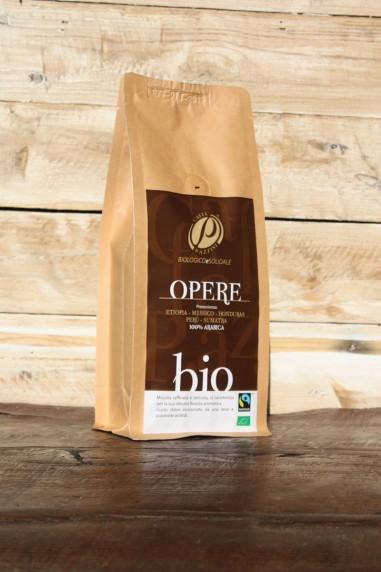 caffè opere brown Pazzini, Ecoposteria, Ostia