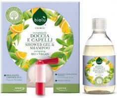 detergente alla spina doccia e capelli biologico ostia