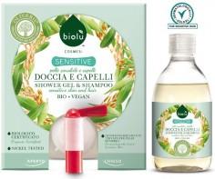 detergente doccia e capelli per pelli sensibili biologico alla spina ecoposteria ostia