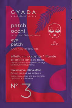patch occhi rimpolpanti effetto lifling, gyada cosmetics, Ecoposteria, Ostia