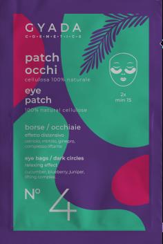 patch occhi borse e occhiaie gyada cosmetics, Ecoposteria, Ostia